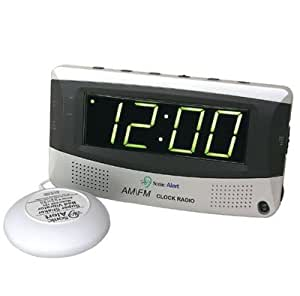 large display alarm clock radio clock radio health personal care. Black Bedroom Furniture Sets. Home Design Ideas