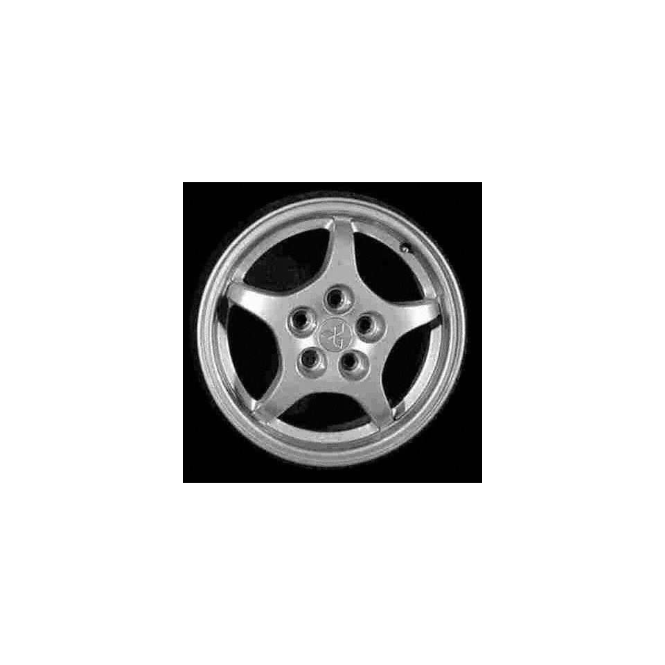97 99 MITSUBISHI ECLIPSE ALLOY WHEEL RIM 16 INCH, Diameter 16, Width 6 (5 SPOKE), MACHINED FINISH, 1 Piece Only, Remanufactured (1997 97 1998 98 1999 99) ALY65751U10