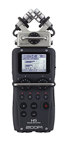 Zoom H5 Four-Track Portable Recorder (Renewed) from Zoom