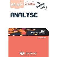 Analyse MP-MP* 2è Année/Cours et exercices corrigés