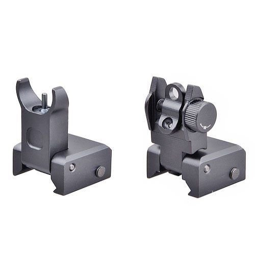 Review Of Ade Advanced Optics TCFPRO Tactical Flip Up Iron Rear/Front Sight Mount