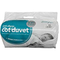 Cosy Nights Anti-Allergy 7.5 Tog Duvet/Quilt & Pillow, Cot Bed
