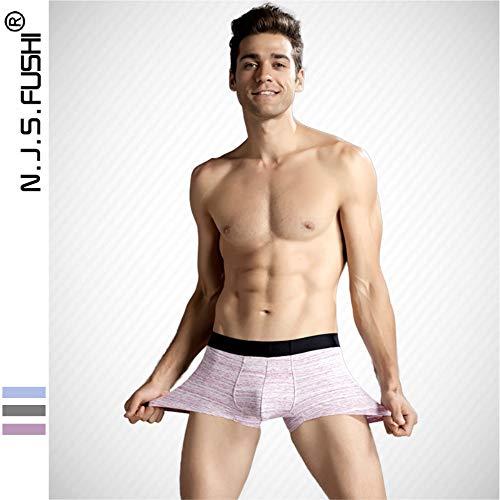 Pantaloni Mutandine In Sexy Aifei Cotone Traspiranti E Red Uomo Media Antibatteriche Da Altezza pdF0B