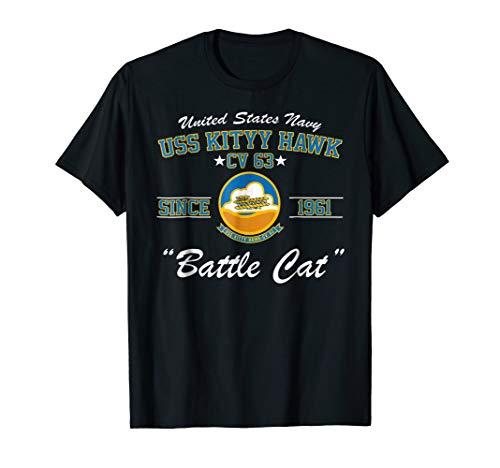 USS Kitty Hawk CV-63 Aircraft Carrier Shirt