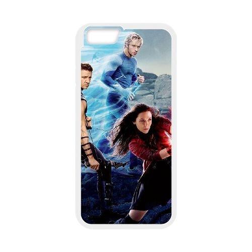 Avengers Age Of Ultron coque iPhone 6 Plus 5.5 Inch Housse Blanc téléphone portable couverture de cas coque EBDOBCKCO11965