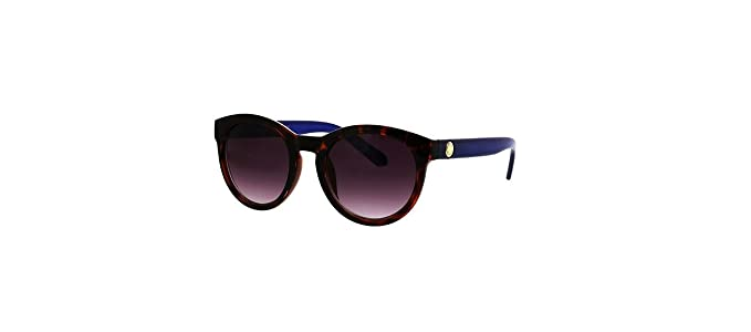 0ef9be228ad76 Image Unavailable. Image not available for. Colour  Catherine Malandrino  Women s Moderate Round Sunglasses