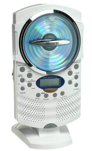 Memorex MC1008 Shower CD Radio (Discontinued by Manufacturer) by Memorex