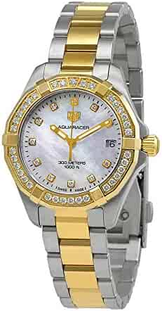 Tag Heuer Aquaracer Mother of Pearl Diamond Dial Ladies Watch WBD1323.BB0320