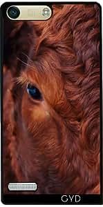 Funda para Huawei AscendP7 Mini - Vaca by Grab My Art