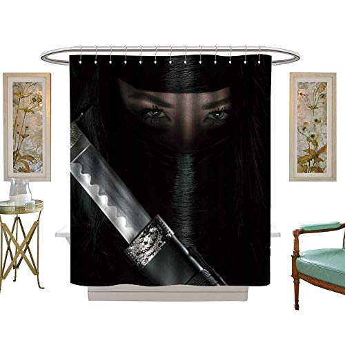 luvoluxhome Shower Curtain Collection by Girl or Woman