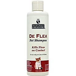 Natural Chemistry De Flea Ready to Use Flea Shampoo for Cats & Kittens 8oz