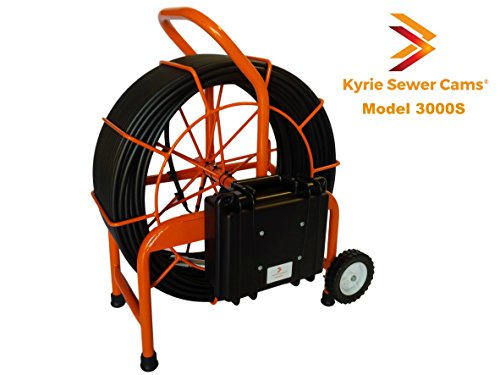 Kyrie Cam 3000S - 300 ft sewer camera with 512 hz Sonde, pipe main inspection