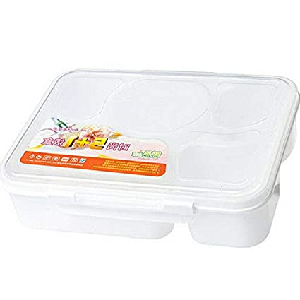 2e72ac6bf075 Amazon.com: Mikash Microwave Bento Lunch Box With Spoon Large ...