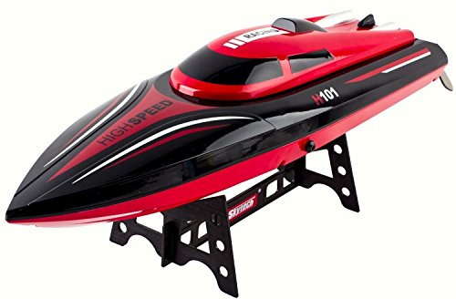 deAO HIGH SPEED RC RACING BOAT 2.4GHz - 25km/H -- 100% WATERPROOF