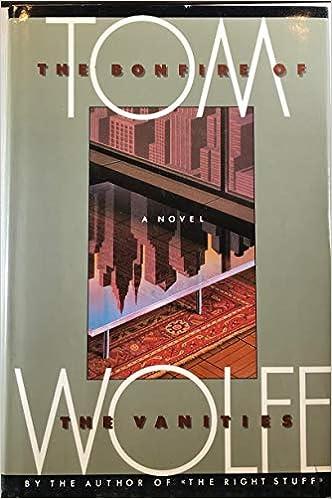 Bonfire of the Vanities: Tom Wolfe: 9785551180005: Amazon.com: Books