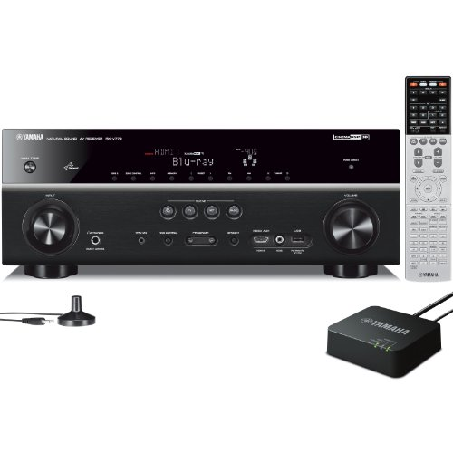 Yamaha RX-V773WA 7.2- Channel Network AV Receiver (Discontinued by Manufacturer) by Yamaha