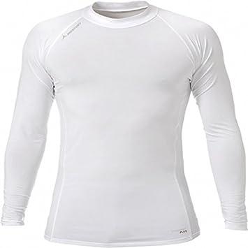 Camiseta Térmica Mercury Licra Blanca Manga Larga: Amazon.es: Deportes y aire libre