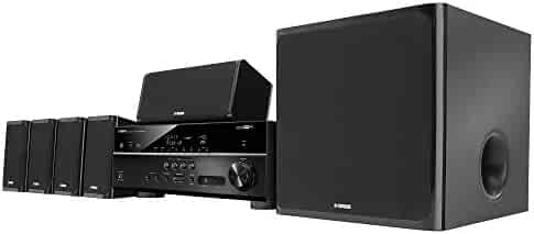 Yamaha YHT-5920UBL MusicCast Home Theater in a Box, Works with Alexa