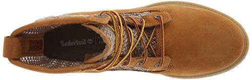 Tan de tejido abierto mujeres Nubuck para las Weave Botas 6 Timberland Wheat nbsp;
