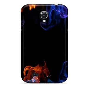 Excellent Galaxy S4 Case Tpu Cover Back Skin Protector Colorfire