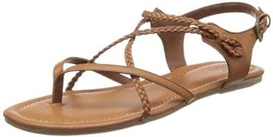 Amazon Com Mia Women S Adrianna Gladiator Sandal Flats