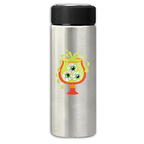 Halloween Drink Clipart Vacuum Cup Stainless Steel Frosted Travel Mug With Tea Leaf Filter,Business Vacuum Bottle