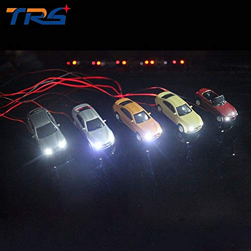 - Sala-Ctr - HO scale Toy Car Metal Alloy Diecast Car Model Miniature Scale model and Light Model Car Toys For Architectural model making
