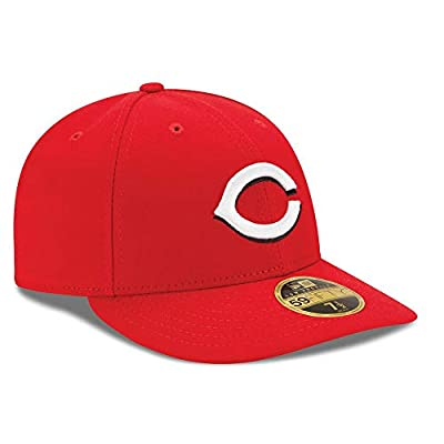 Cincinnati Reds Low Profile Fitted Size 7 3/4 Hat Cap - Red