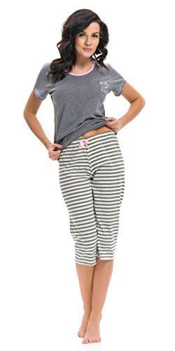 dn-nightwear - Pijama - para mujer gris oscuro