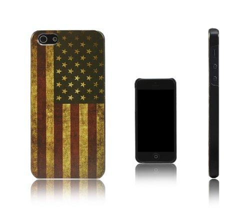 Xcessor USA États-Unis d'Amérique Drapeau Vintage Dur Dos Étui Coque Housse De Protection Pour iPhon