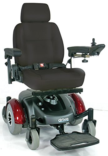Drive Medical Image Ec Mid Wheel Drive Power Wheelchair, 20 Inch