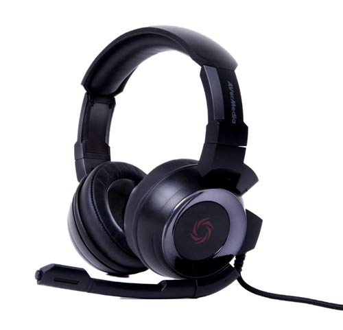 AVerMedia SonicWave USB 7.1 Gaming Headset pour PC, Mac, PS4, (GH337)