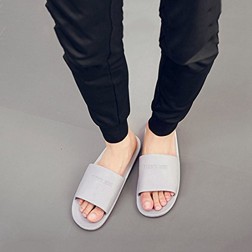 Slippers with Gray XINGYUE Spa Shower Couples Slippers Hole Sandals Slipper PKYP7aA