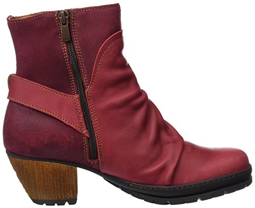 Wax Art Grass Red Rioja Women's Boots Ankle Amaranth qEFWr6E
