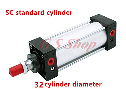 Pull rod type SC32 32mm 3225 3250 3275 32100 series cylinder bore series single rod standard pneumatic cylinder sc32