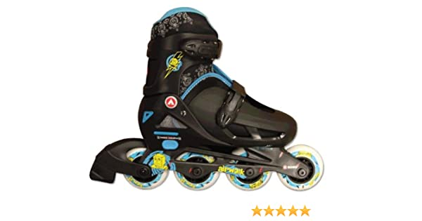 Amazon.com   Airwalk Kids Adjustable Inline Skates (Black Blue 5e4ca7ca76