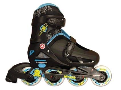Amazon.com   Airwalk Kids Adjustable Inline Skates (Black Blue e44a8425e