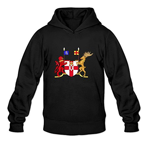 coat-of-arms-of-northern-ireland-cool-o-neck-black-long-sleeve-sweatshirts-for-mens-size-m
