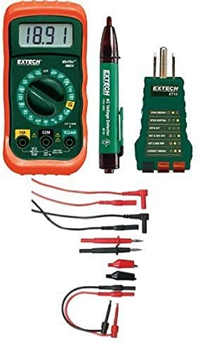Extech MN24-KIT Electrical Test Kit with TL809 Electronic Test Lead Kit