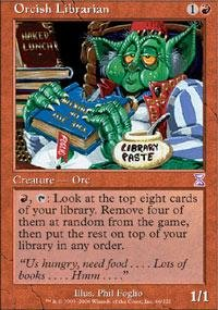 Magic: the Gathering - Orcish Librarian - Timeshifted