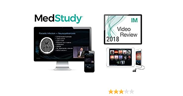 Amazon com: Medstudy 2018 Internal Medicine Video Board