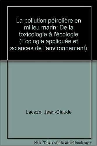 Livre gratuits en ligne La pollution pétrolière en milieu marin epub pdf