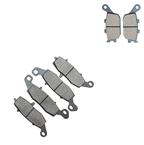 CNBK Carbon Brake Pads Set for SUZUKI Street Bike GSR750 GSR 750 cc 750cc L1 11 12 13 14 15 2011 2012 2013 2014 2015 6 Pads