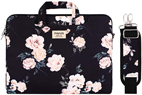 MOSISO Shoulder Compatible Notebook Briefcase