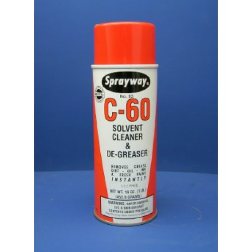 C-60 Solvent cleaner and degreaser - Case:12