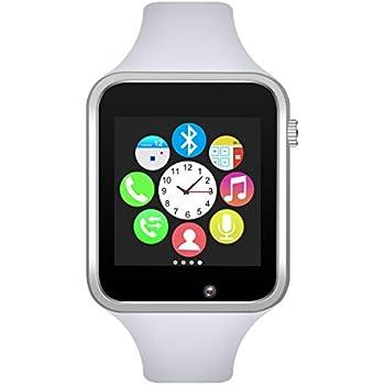 Amazon.com: A1 Smart Wrist Watch Bluetooth Waterproof GSM ...