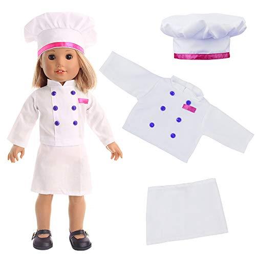 Robe Zita Cuisinier Pour L'air De Hôtesse Cosplay American Pouces 18 Girl Doll Vetements 19 Element Karaté Pièces Médecin XIqrIfT