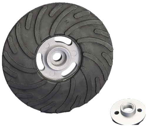 United Abrasives-SAIT 95018 7-Inch Medium 5/8-11 THR Backing Pad, 1-Pack