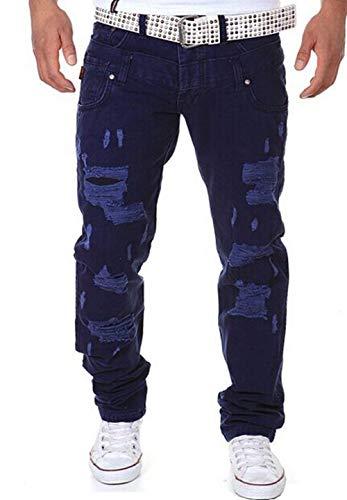 Pour Extérieure D'été Droite Longue Base Marine Bleu Style Camouflage De Loisir Automne Homme Cargaison Armée Coupe Pantalon qEvtwx