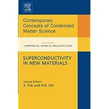 Superconductivity in New Materials